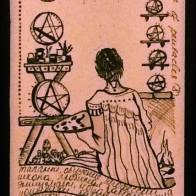 8 of Pentacles. Los Angeles, 2013.