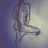 Figure Drawing N°2. Los Angeles, 2011.